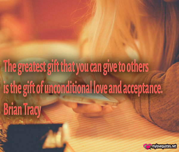 the greatest gift that you can give to others