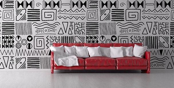 papiers peints afrique mur aux dimensions myloview fr