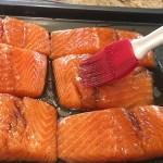 Marinade on fish