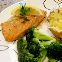 Maple Broiled Salmon Recipe