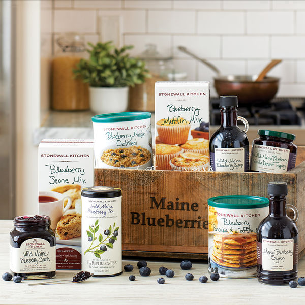 Blueberry Gift Crate via @susanmylovingoven.com