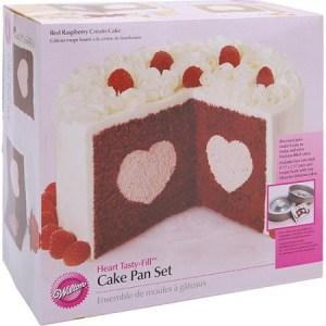 Center filled cake pans