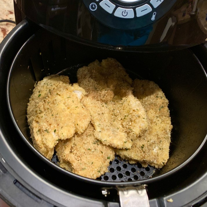 fish filets in airfryer