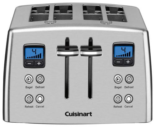Cuisinart 4 Slice Toaster Stainless Steel