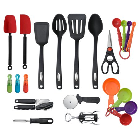 Farberware 22 Piece Kitchen Tool Set via @susanmylovingoven.com