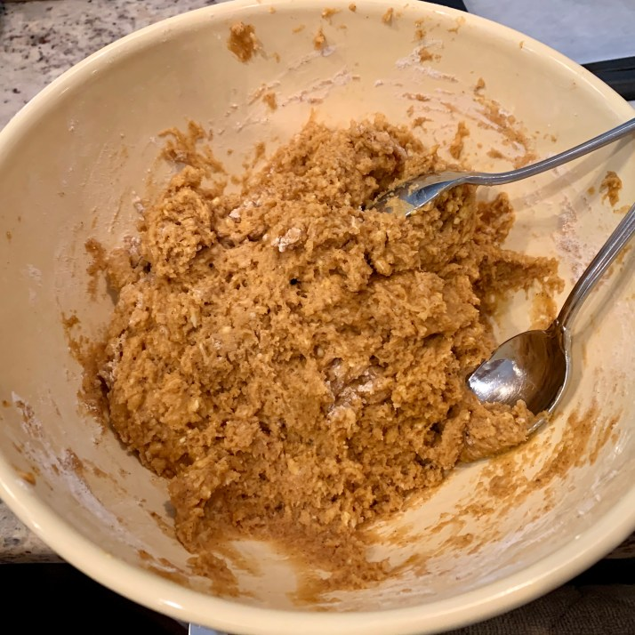 photo of cookie batter