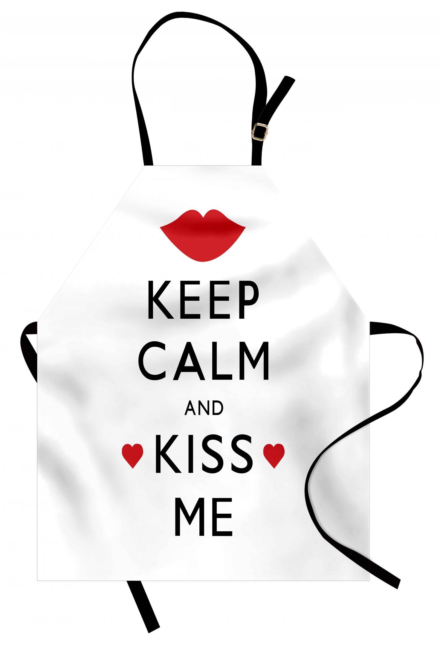 Keep Calm and Kiss Me Apron via @susanmylovingoven.com