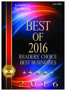 "Voted ""Best Day Care in Idaho Falls"" 2016"