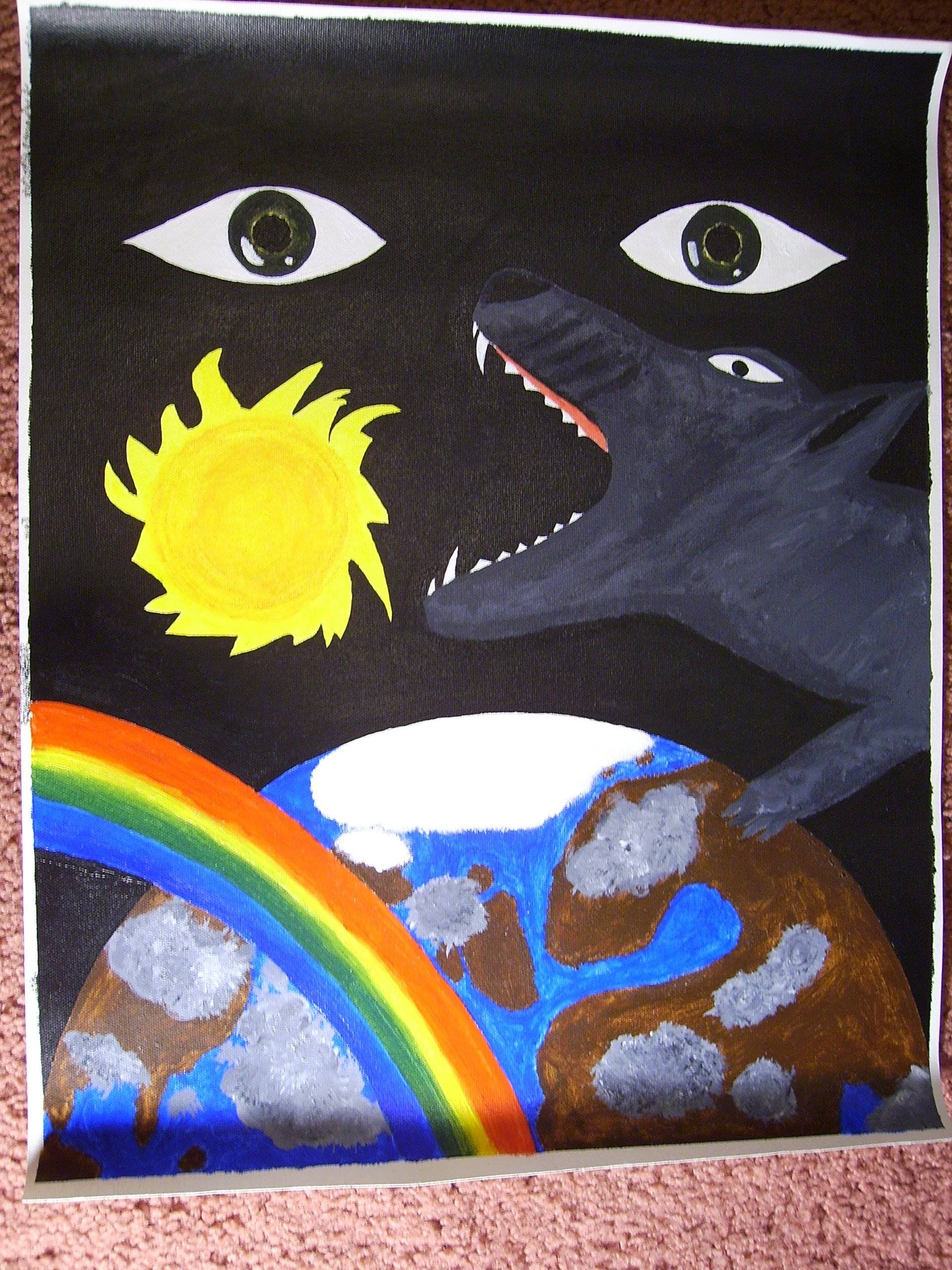 painting of Ragnarök