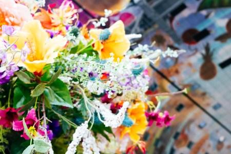 Bloemen markthal