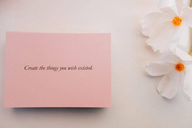 roze kaartje