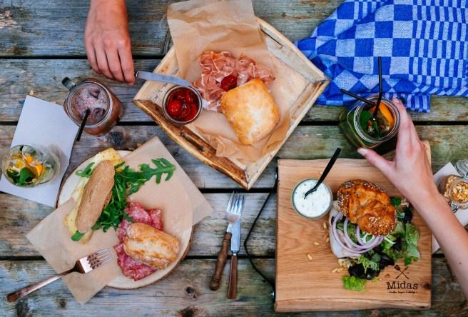 lunchtafel foto