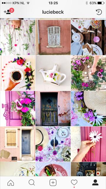 kleuren instagram