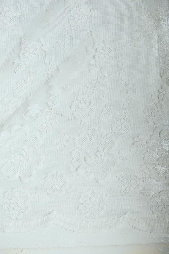 kanten stof gebruiken als background