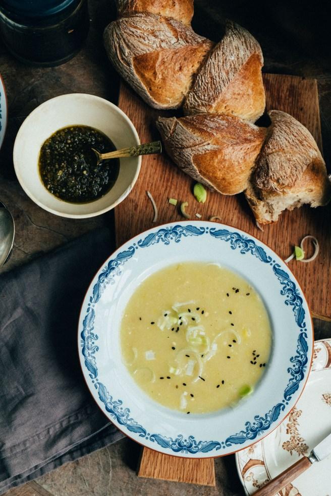 soep met stokbrood