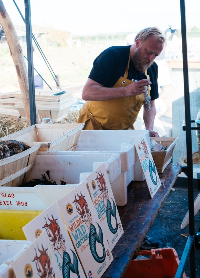 oesters eten bij Goede vissers