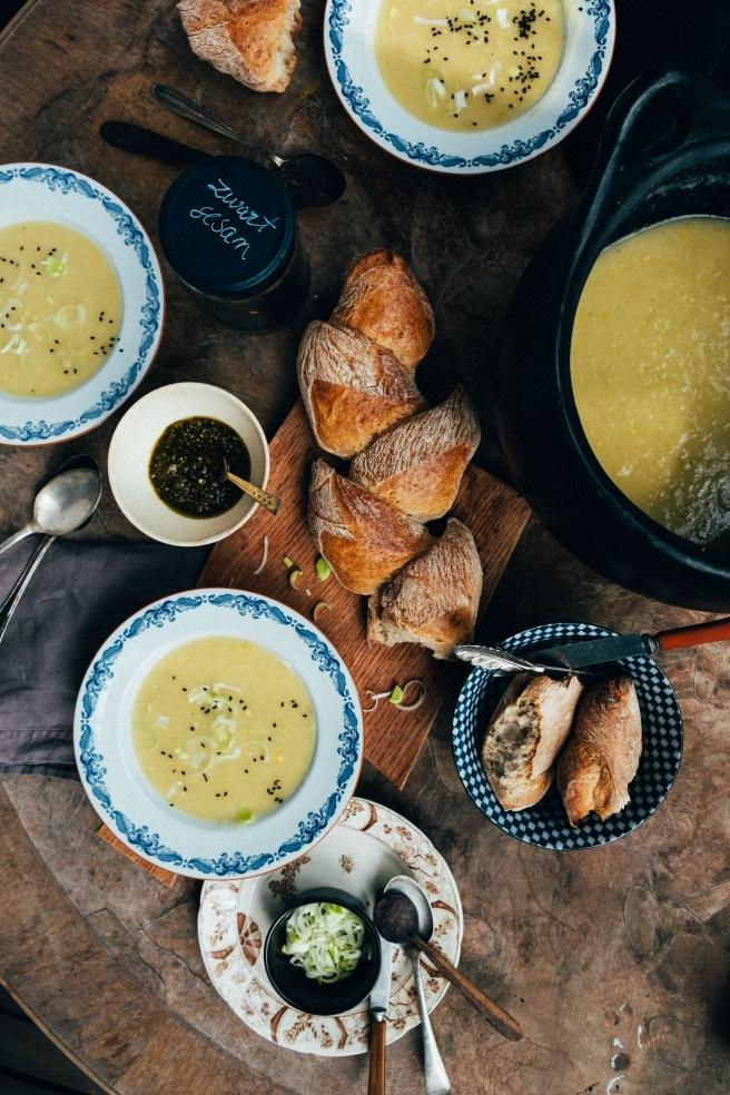 prei soep recept