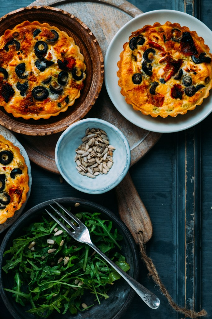 foodstyling quiche