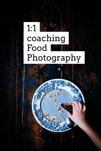 1 on 1 food photography coaching