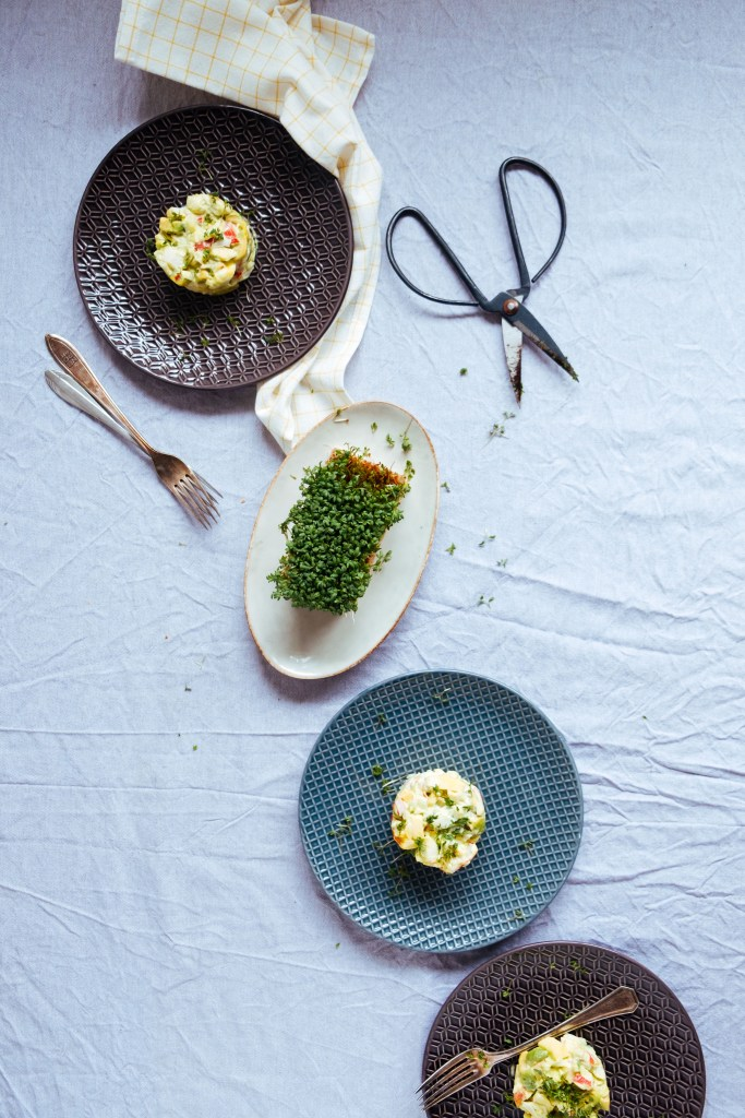 composition in food styling