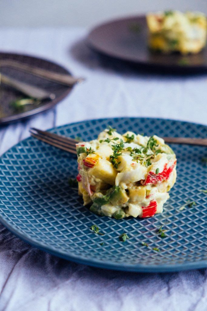 crab tartare recipe