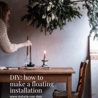 DIY: how to make a floating installation
