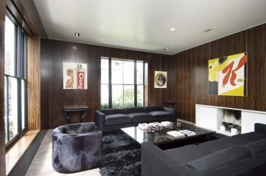 Living Room Tom Ford House 26 Gilston Road Chelsea London