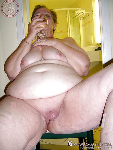 Granny naked