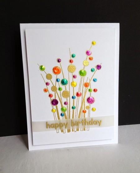 Blumen-Postkarte.