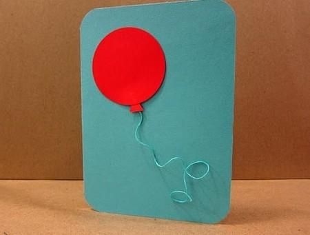 Bưu thiếp đơn giản và không khí