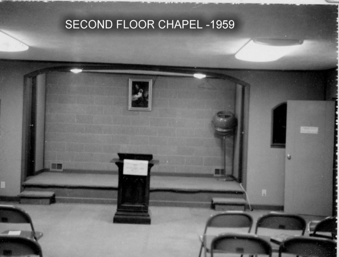 1959 d 2nd chapel