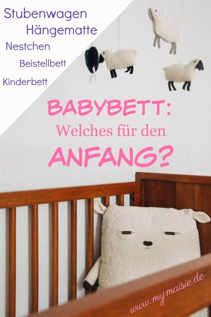 Welches Babybett für den Anfang? Schafkuscheltiere in Bett