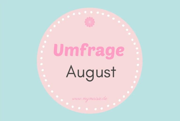 Umfrage August