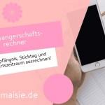 Schwangerschaftsrechner – Empfängnis, Stichtag und Geburtszeitraum ausrechnen!