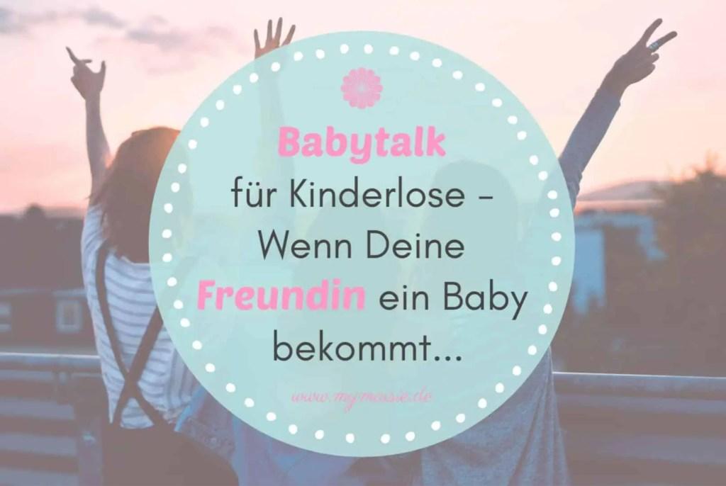 My Maisie Babytalk für Kinderlose Schwanger Baby Freundin