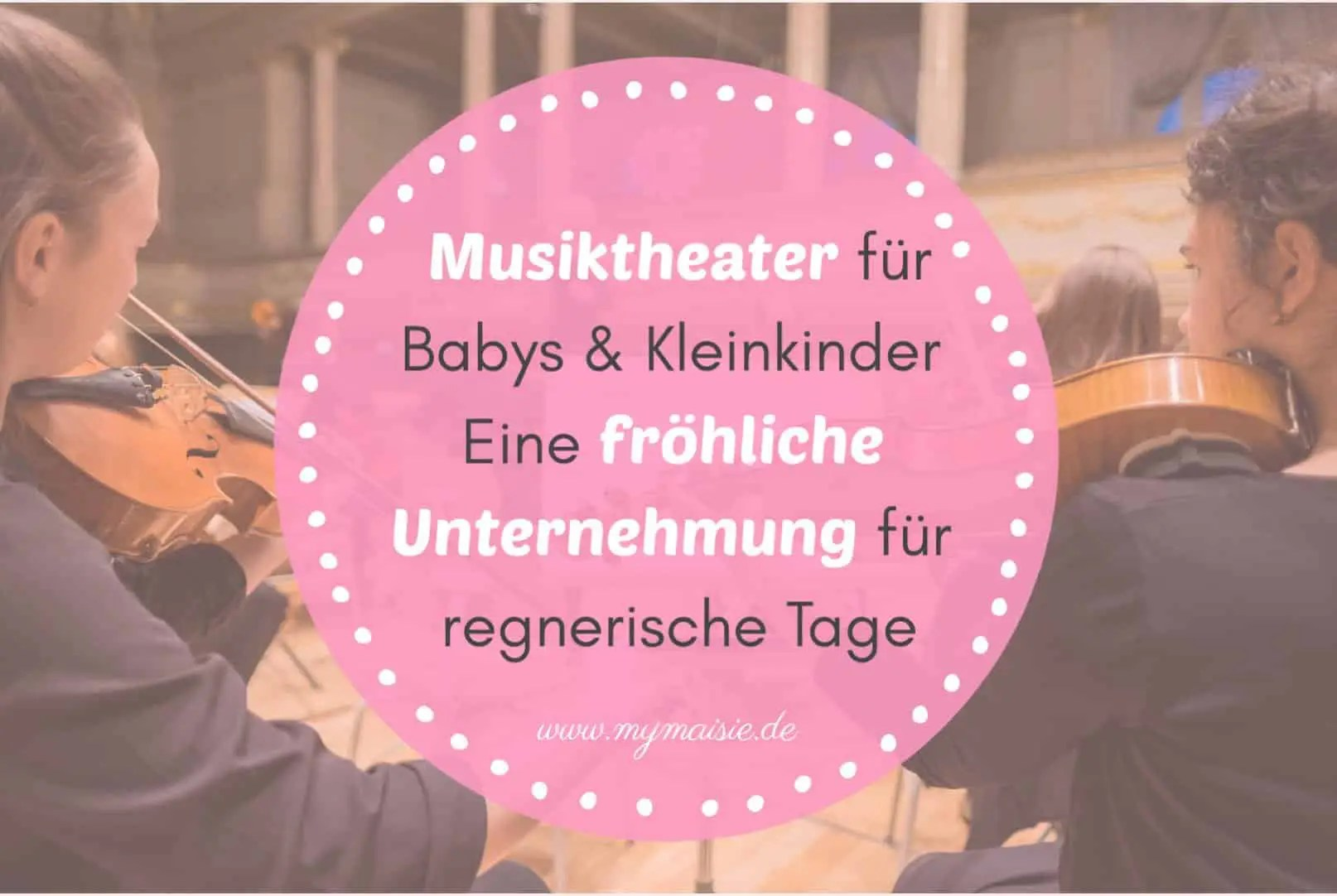 My Maisie Cover Musiktheater für Babys Kleinkind Schwanger Kind
