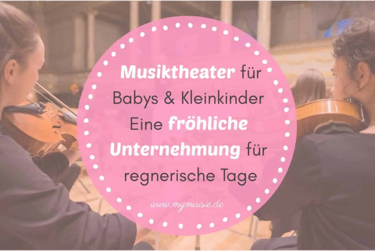 Musiktheater für Babys – Eine fröhliche Unternehmung für regnerische Tage 🎼