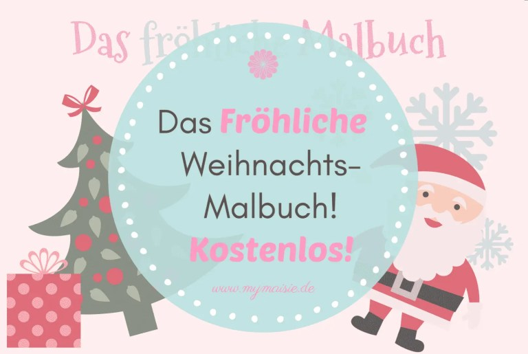 Das Fröhliche Weihnachts-Malbuch – Kostenlos!