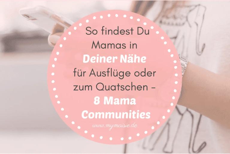 So findest Du Mamas in Deiner Nähe für Ausflüge, Kurse oder zum Quatschen – 8 Mama Communities & Finder im Test