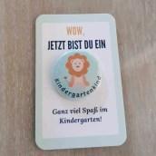 Kindergartenkind Button Geschenk KiTa
