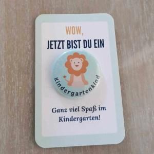 Kindergartenkind Button
