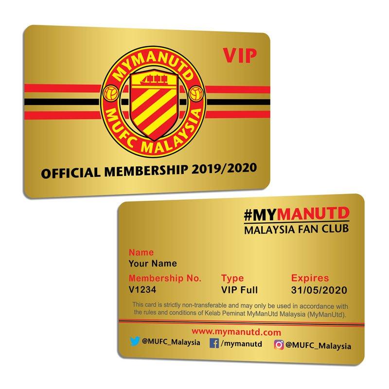 VIP Full Membership Card