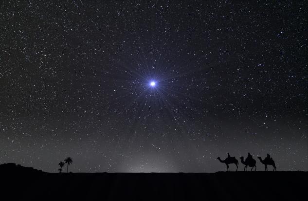 Der Esel, Der Ochs Und Der Stern Von Bethlehem  My Marterl