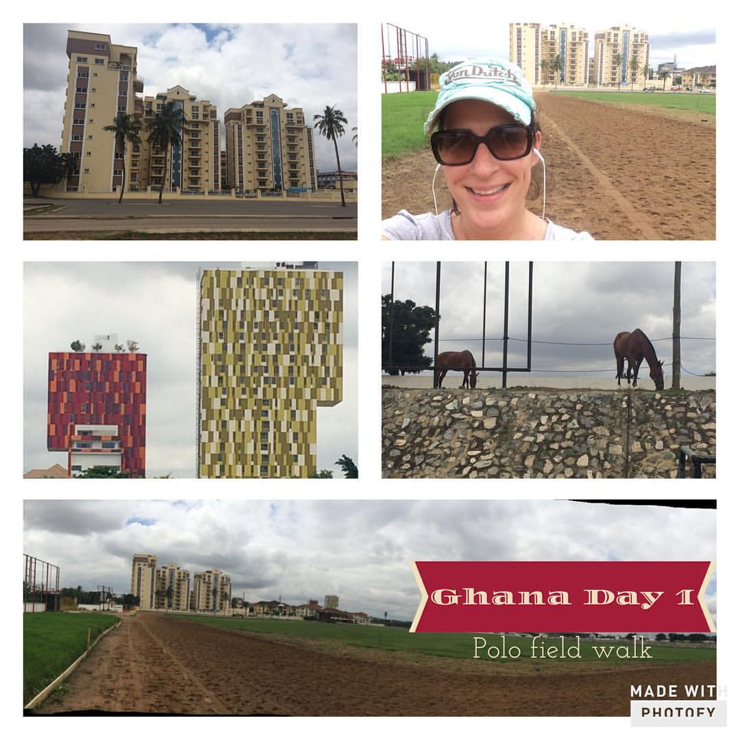 The polo field in Accra Ghana