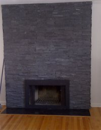 How To Install A Stone Hearth And Fireplace Surround ...