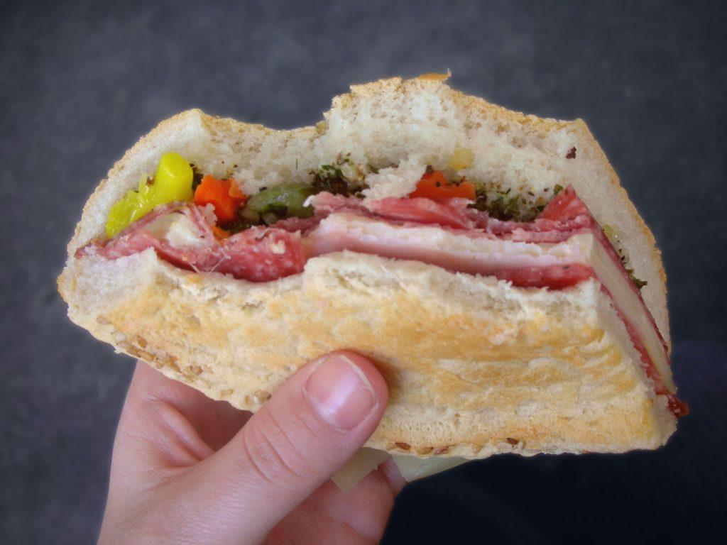 Authentic Muffuletta Sandwich