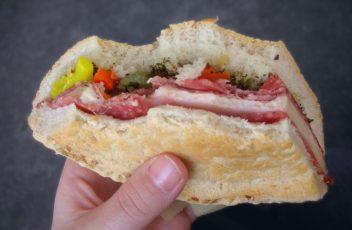 Authentic Muffelatta Sandwich