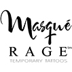 Masque Rage - Temporary Tattoo Masquerade Masks