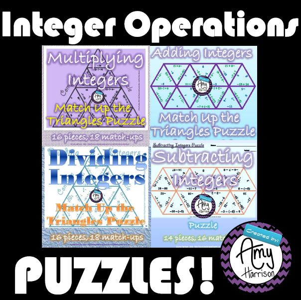 IntegerOperationsPuzzles