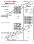 the corrdinate plane quiz